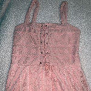 Aero pink pastel dress